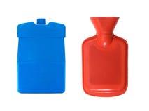 Bottiglia di acqua calda Fotografie Stock Libere da Diritti