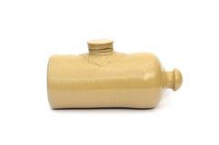 Bottiglia di acqua calda antica Fotografia Stock