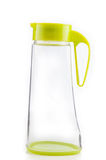 Bottiglia di acqua di colore verde Fotografia Stock