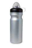 Bottiglia di acqua di plastica grigia Fotografia Stock