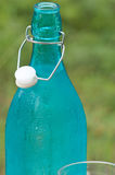 Bottiglia di acqua fredda Fotografia Stock