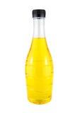 Bottiglia di acqua gialla luminosa. Fotografie Stock Libere da Diritti