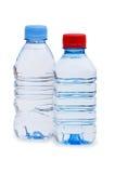 Bottiglia di acqua isolata Immagini Stock Libere da Diritti