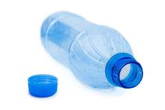 Bottiglia di acqua vuota Immagini Stock Libere da Diritti