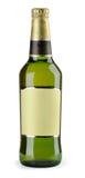 Bottiglia di birra Fotografia Stock