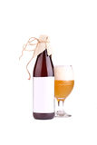 Bottiglia di birra isolata Immagine Stock Libera da Diritti