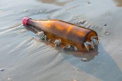 Bottiglia di fermo del balano Immagini Stock