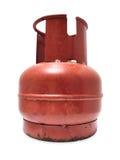 Bottiglia di gas Fotografia Stock