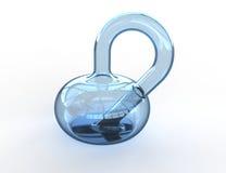 Bottiglia di Klein Immagine Stock