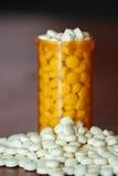 Bottiglia di medicina Immagini Stock