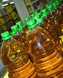 Bottiglia di olio Immagine Stock