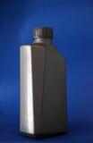 bottiglia di olio del motore 3D, scatola metallica Fotografia Stock