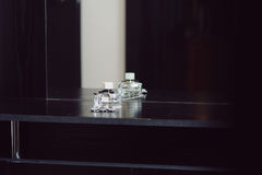 Bottiglia di Parfume Immagini Stock