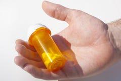 Bottiglia di pillola immagine stock libera da diritti