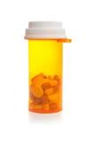 Bottiglia di pillola Fotografia Stock Libera da Diritti