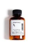 Bottiglia di pillola Fotografia Stock
