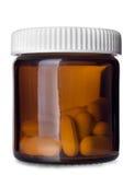 Bottiglia di pillole Immagine Stock