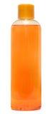Bottiglia di plastica con sciampo o il cosmetico igienico Immagine Stock Libera da Diritti