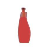 Bottiglia di plastica del sapone della pompa Fotografia Stock
