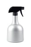 Bottiglia di plastica dello spruzzo d'acqua Fotografie Stock