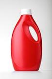Bottiglia di plastica su bianco fotografia stock