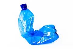 Bottiglia di plastica vuota Fotografia Stock Libera da Diritti