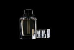 Bottiglia di profumo Fotografie Stock Libere da Diritti