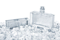 Bottiglia di profumo immagine stock