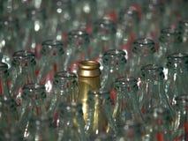 Bottiglia di schiocco Immagine Stock