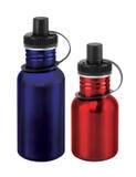 Bottiglia di sport Fotografie Stock