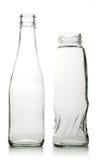 Bottiglia di vetro Fotografie Stock