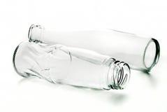 Bottiglia di vetro Fotografie Stock Libere da Diritti