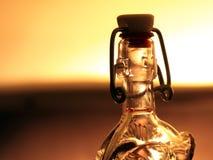 Bottiglia di vetro Fotografia Stock Libera da Diritti