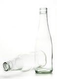 Bottiglia di vetro residua Fotografia Stock Libera da Diritti