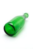 Bottiglia di vetro verde Immagine Stock