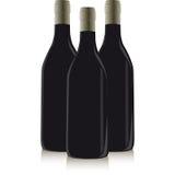 Bottiglia di vino Illustrazione di Stock