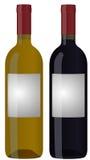 Bottiglia di vino Fotografia Stock Libera da Diritti