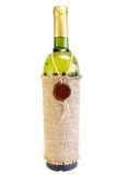 Bottiglia di vino bianco Immagini Stock Libere da Diritti