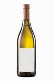 Bottiglia di vino bianco Fotografie Stock Libere da Diritti