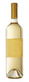 Bottiglia di vino bianco fotografia stock