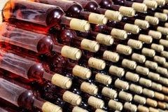 Bottiglia di vino rosso Fotografie Stock Libere da Diritti