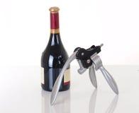 Apri del vino Immagini Stock