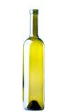Bottiglia di vino vuota Immagini Stock