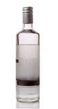 Bottiglia di vodka Fotografia Stock Libera da Diritti