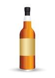 Bottiglia di whisky Fotografia Stock Libera da Diritti