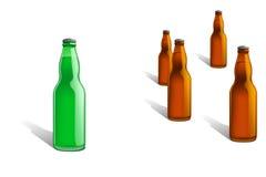 Bottiglia line2 Fotografia Stock Libera da Diritti