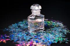 bottiglia magica stellata Fotografia Stock Libera da Diritti
