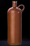 Bottiglia marrone dell'argilla di Balzamz Immagini Stock Libere da Diritti