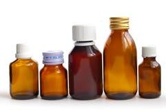 Bottiglia medica Immagini Stock