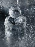 Bottiglia per la profumeria Fotografia Stock